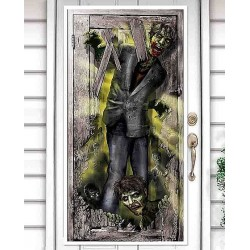 Zombie Door Poster Halloween Decoration