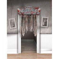 Asylum Curtain Doorway Halloween Decoration