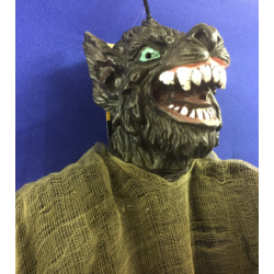 Howling Wolf Halloween Decoration
