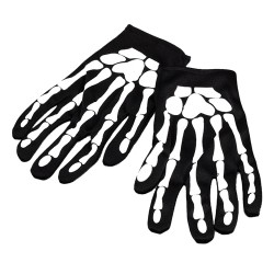 Skeleton Gloves Halloween Costume Accessory