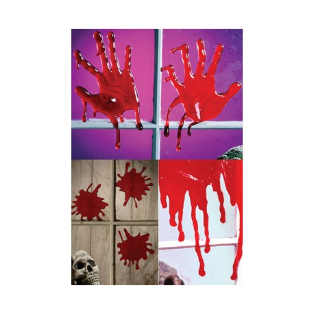 Drips Of Blood Halloween Horror Decoration