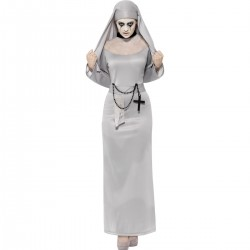 Gothic Nun Halloween Costume
