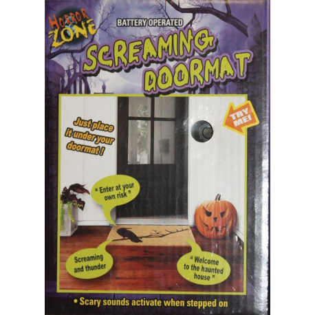 Screaming Halloween Doormat Mechanism - PRE ORDER