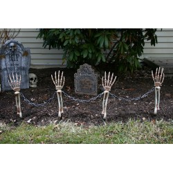 Skeleton Arm Halloween Lawn Stakes - PRE ORDER