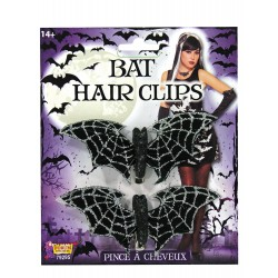 Halloween Bat Hair Clips