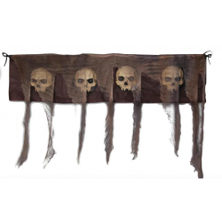 Catacomb Skull Wall Cloth Halloween Decoration