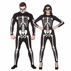 Unisex Adult Skeleton Jumpsuit