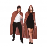 Brown Hooded Cape