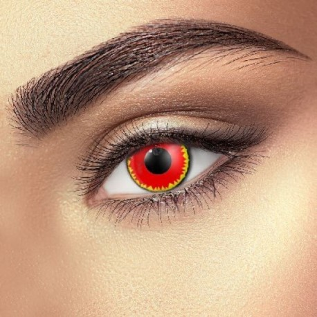 Red Vampire Halloween Eye Accessories