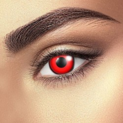 Bloody Red Daily Contact Lenses