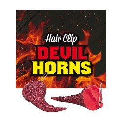 Devil Horn Hair Clips Halloween Costume Accessory