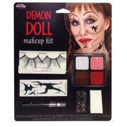 Demon Doll Halloween Make-Up Kit