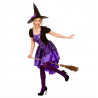 Glamorous Witch Halloween Costume