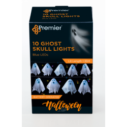 Halloween Ghost LED String Lights - PRE ORDER