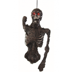Rotting Hanging Torso Horror Prop