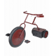 Ghostly Tricycle Animated Halloween Prop