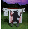 Bloody Werewolf Silhouette Halloween Decoration - PRE ORDER