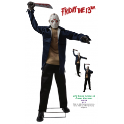 Jason Voorhees Animated Halloween Prop
