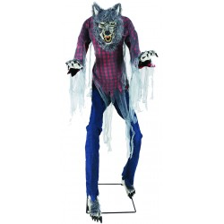 Prowling Werewolf Animated Halloween Prop