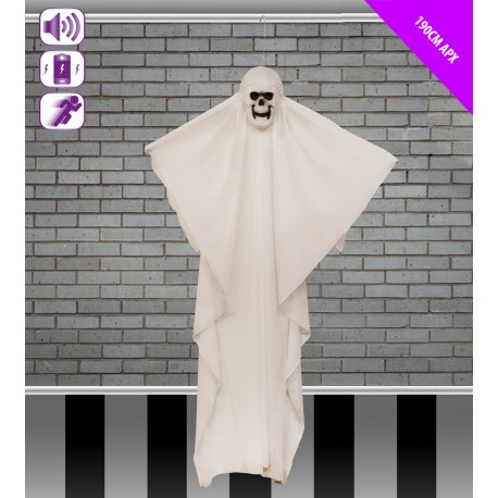 Giant Animated Spinning Ghost Halloween Prop
