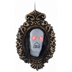Haunted Cameo Picture Halloween Decortation