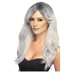 Ghostly Glamour Halloween Wig