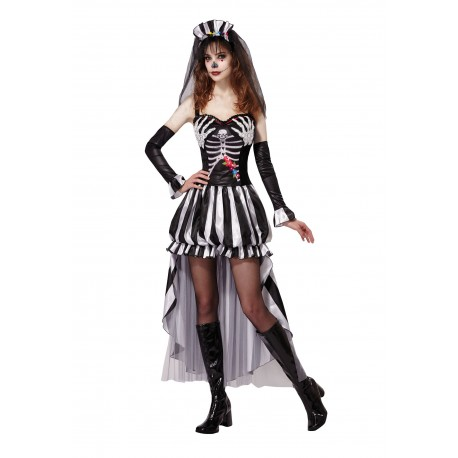 Skeleton Queen Halloween Costume