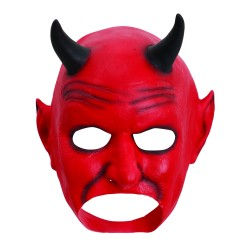 Red Devil Halloween Mask
