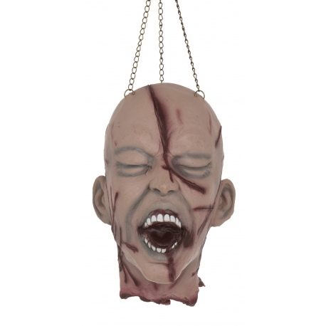 Hanging Victims Head Halloween Horror Decoration
