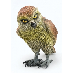 Rubber Owl Realistic Prop Halloween Decoration