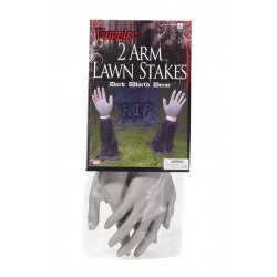Vampire 2 Arm Halloween Decoration Lawn Stakes