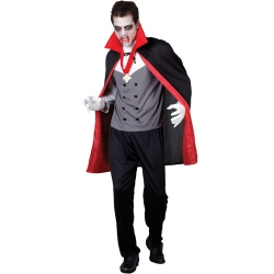Classic Vampire Halloween Fancy Dress  Costume