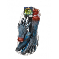 Bag Of Zombie Limbs Halloween Body Parts