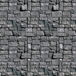 Stone Wall Backdrop Scenesetter Halloween Decoration