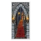 Castle Entrance Door Cover Halloween Decoration