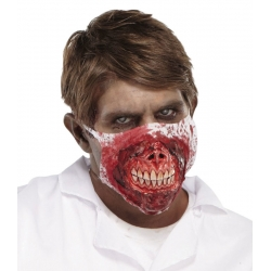 Zombie Medic Halloween Horror Face Mask