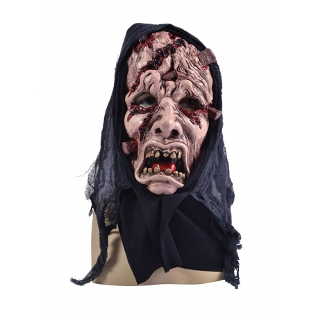 Wounded Full Face Scary Halloween Horror Mask
