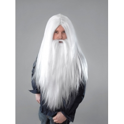 Wizard White Wig Halloween Fancy Dress
