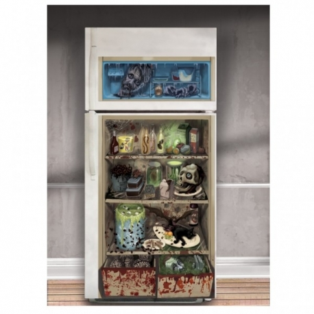 Refrigerator Door Cover Halloween Decoration