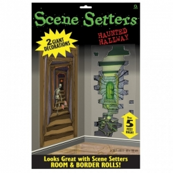 Scene Setter Haunted Hallways Halloween Decoration